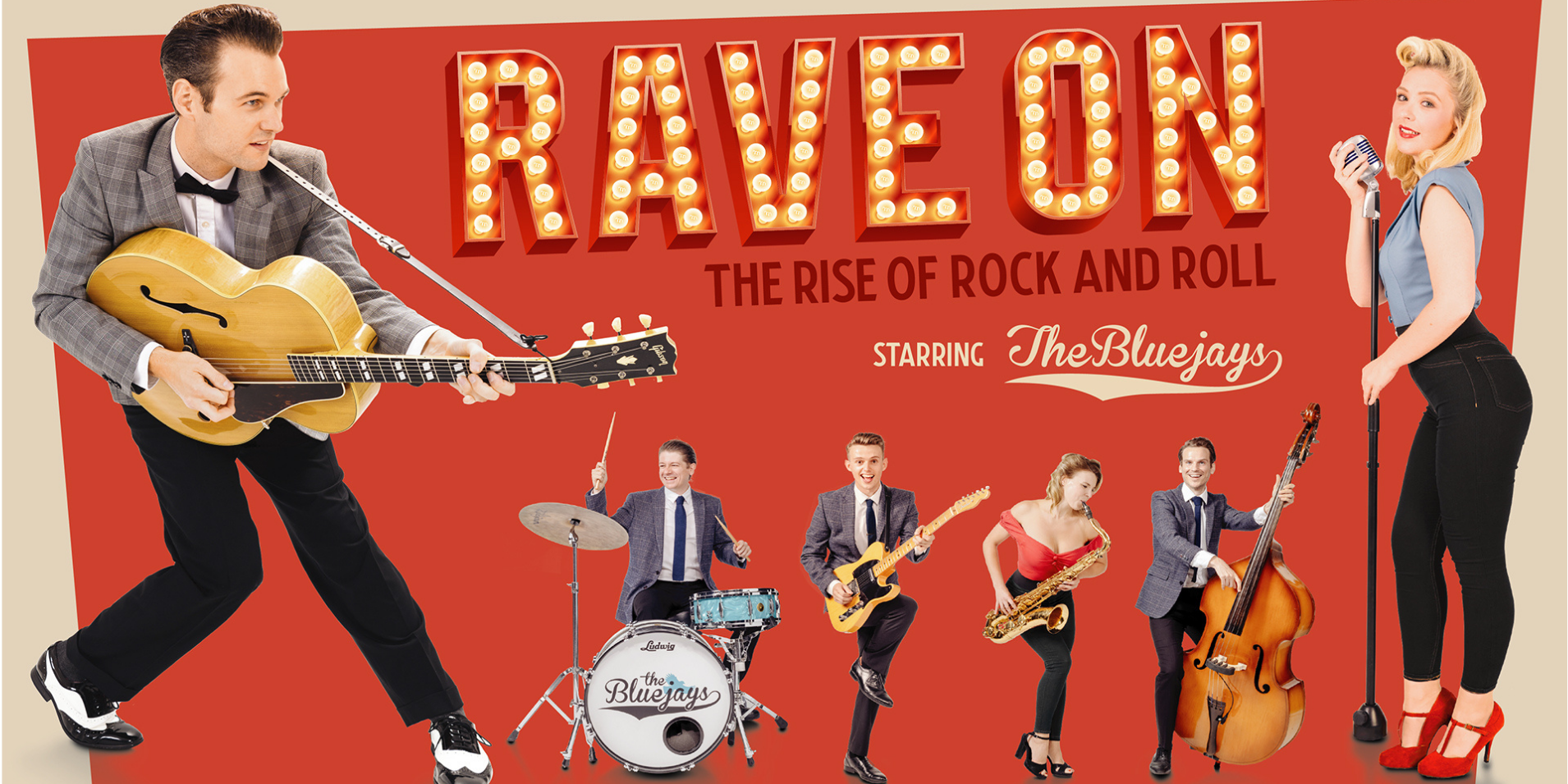 The Bluejays: Rave On